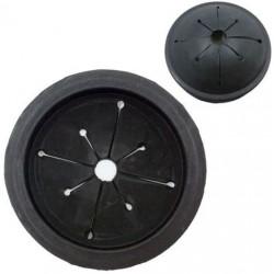 Goma válvula anti-salpicaduras 80 mm