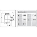 Triturador Insinkerator Modelo EVOLUTION 100