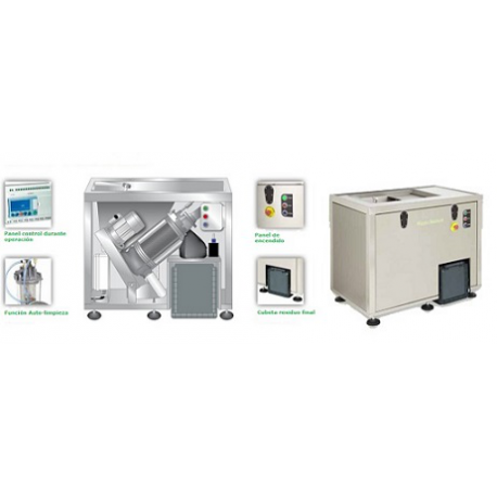 WasteStation Triturador Deshidratador